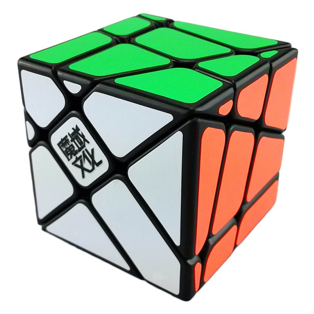 New High Quality YongJun Moyu Crazy YiLeng Fisher Cube 3x3x3 Magic Cube Speed Puzzle Cubes Educational Toy Special Toys(China (Mainland))
