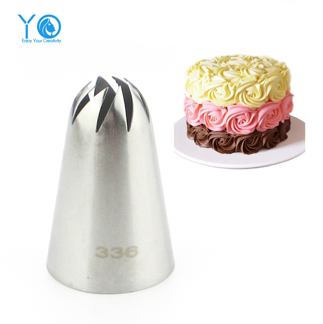 Cake Decorating Nozzle Sizes : #336 Large Size Icing Nozzle Decorating Tip Sugarcraft ...