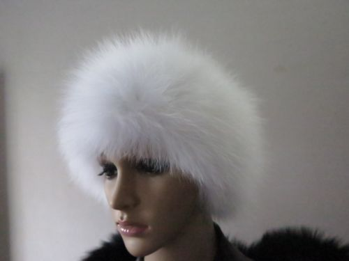 Details about Real FOX Fur headband/ scarf /cape/wrap/ white shipping free 666(China (Mainland))