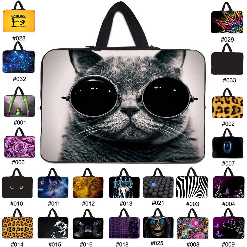 Neoprene Laptop Bag For Notebook Netbook Sleeve Cases Tablet Pouch For 7 8 10 12 13 13.3 14.1 15 15.6 17 Mini Computer Briefcase(China (Mainland))
