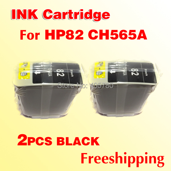 Картридж с чернилами HP82 black ink cartridge 2 82 HP 82 CH565A HP500 HP500ps 800 HP82 BK hwdid 56xl 57xl ink cartridge compatible for hp 56 57 c6656a c6657a deskjet 450ci 5550 5552 7150 7350 7000 2100 220 printer