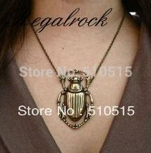Buy Regalrock Fashion Steampunk Beetle Scarab Pendant Necklace for $2.68 in AliExpress store