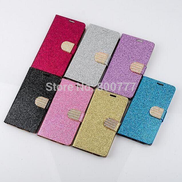 Samsung Galaxy S3 S4 S5 S6 Mini Note 2 3 4 Diamond Bling Shiny Leather Case - WIN/WIN Store store