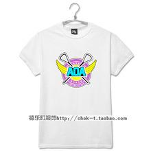 Buy Fashion summer kpop aoa heart attack mv logo printing short sleeve t shirt plus size men women o neck t-shirt 5 colors tees for $18.12 in AliExpress store