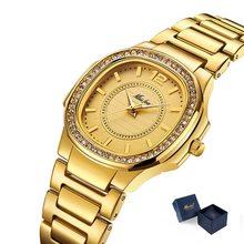 MISSFOX bestseller zegarek kobiety Waches Uhr różowe złoto moda Casual Ladies Wrist Watch Xfcs Dropshipping 2019 zegarek kwarcowy(China)