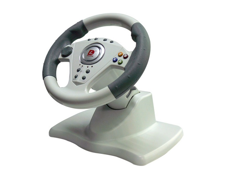 simulation car automobile racing video pc game steering wheel free shipping(China (Mainland))