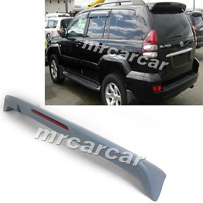Фотография 03-09 Unpainted Grey Primer Rear Wing Spoiler, Auto Car Trunk Lip Spoiler Fit For Toyota Prado GRJ120