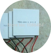 TEG1-241-1.4-1.2 Thermoelectric Power Generation Peltier Module 55x55MM 7V 1.25A(China (Mainland))