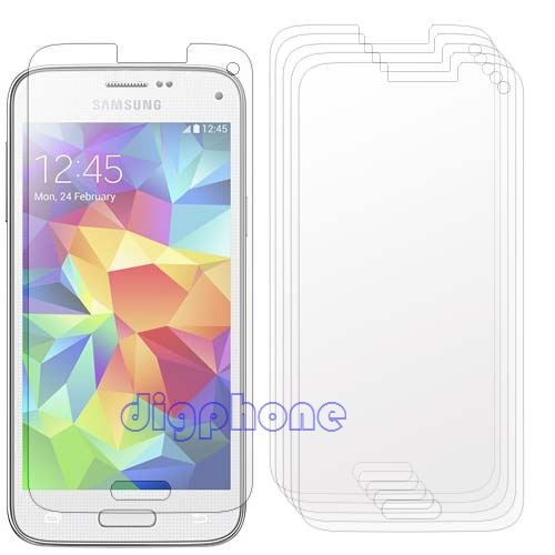 Free Shipping 5 Clear Screen protector film Guard for Samsung Galaxy S5 mini G800 duos G800 M/Y/H/A/R4/DS/F(China (Mainland))