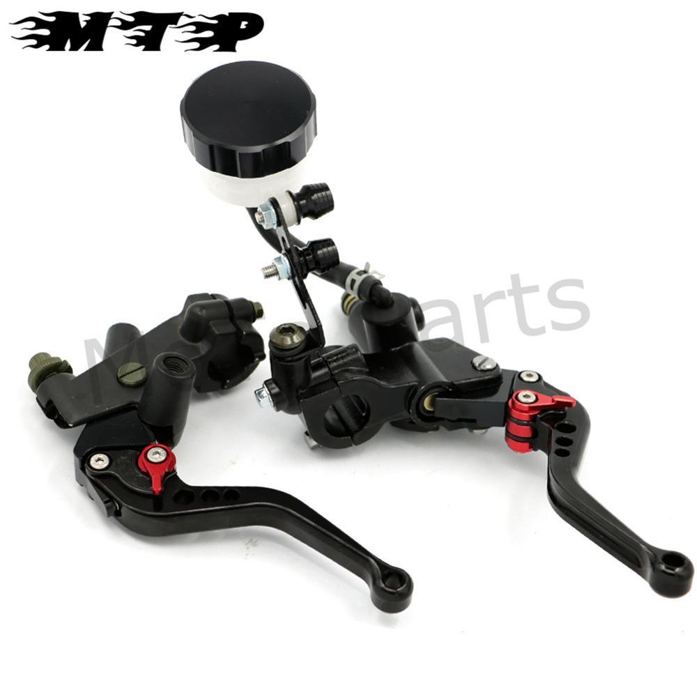 7/8'' 22mm Motorcycle Clutch Brake Levers Master Cylinder Kit Reservoir Set for HONDA CBR 250R 500R 900RR 929RR 954RR CB 1000R