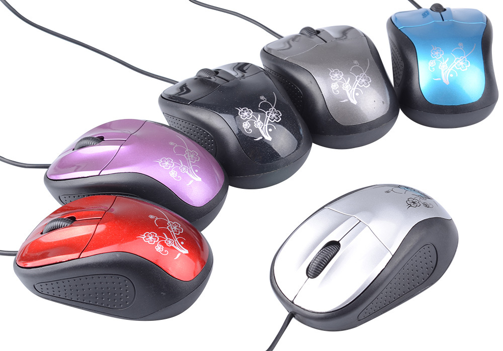 USB 3D Optical 1200 DPI Wired Mice Mouse For Computer Laptop Tablet PC Win7/8(China (Mainland))