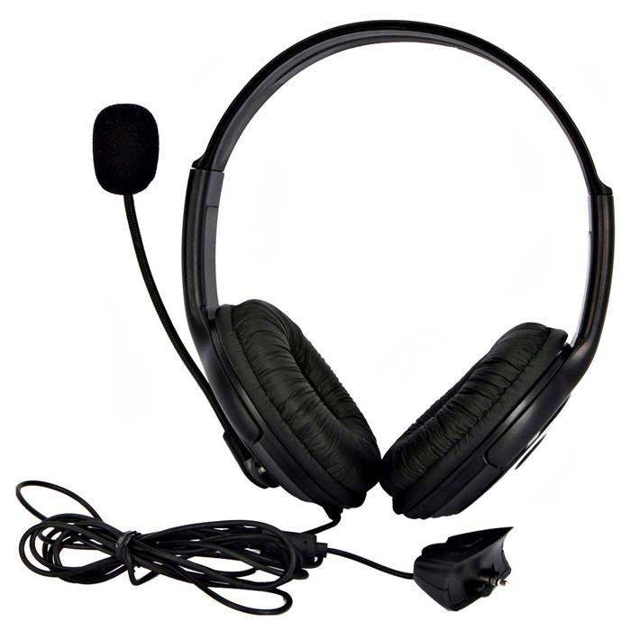 Black Headset Headphone Earphone Microphone for Microsoft Xbox 360 Live Game<br><br>Aliexpress