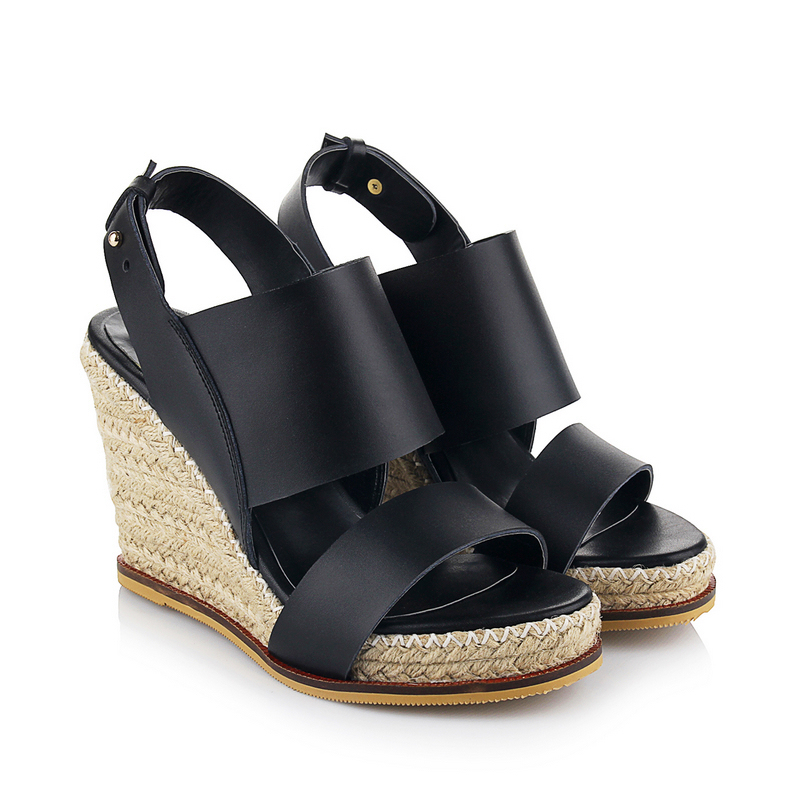 Ladies Shoes 2015 High Heels Sandals fashion Open Toe Women Sandal Sexy Strap Braid Wedges Platform Sandals,Melissa Shoes Woman<br><br>Aliexpress