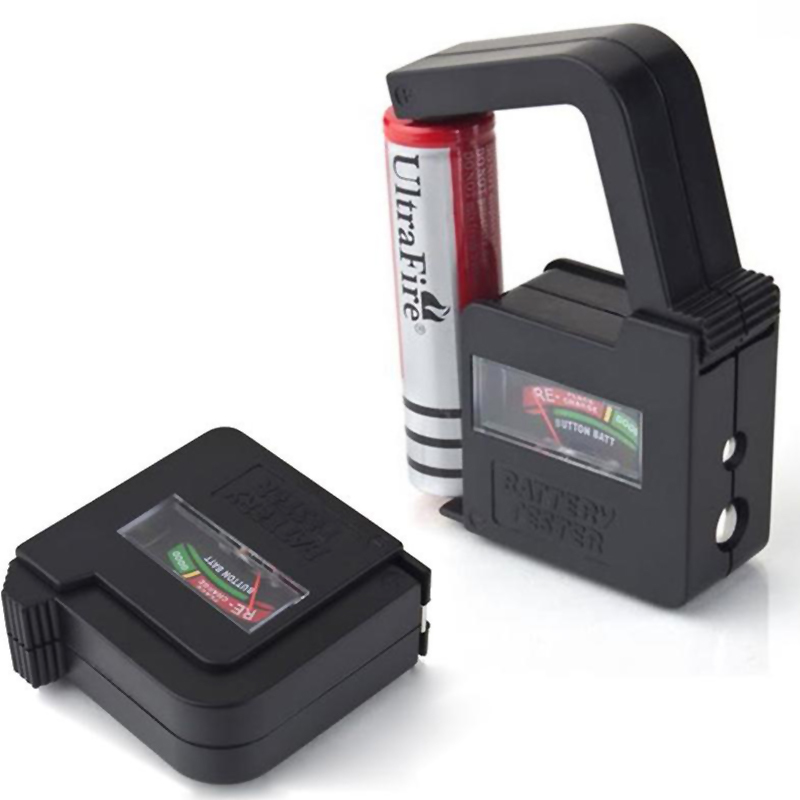 New AA/AAA/C/D/18650/9V/1.5V Universal Button Cell Battery Volt Tester Checker#EC029(China (Mainland))