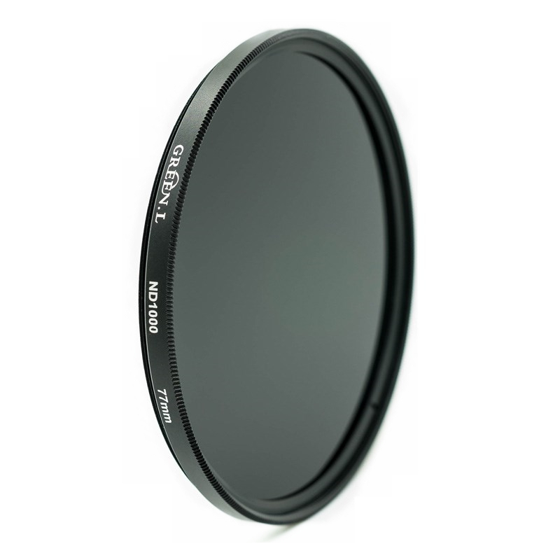 ND1000 Filter HD Optical Glass Multicoating Neutral Density ND Camera Filter Green L. 21 Years Professional Filters Factory(China (Mainland))