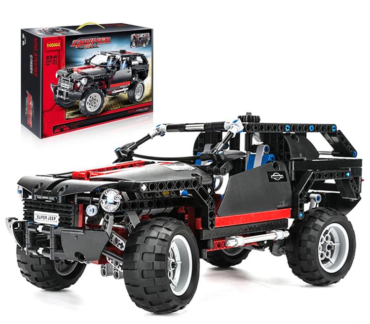 building block set compatible lego Cruiser SUV Racing Car Model 3D Construction Brick Educational Hobbies Toys Kids