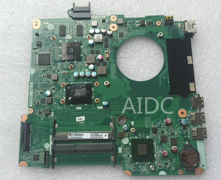 Original laptop motherboard for HP Pavilion 14-N 15-N 15-P 15T-N100 737984-001 DA0U81MB6C0 HM76 I3 DDR3 8670M 2GB Fully tested(China (Mainland))