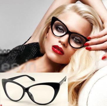 Large Framed Cat Eye Reading Glasses : Hot Sale 2015 Vintage Cat Eye Glasses Frame Computer ...