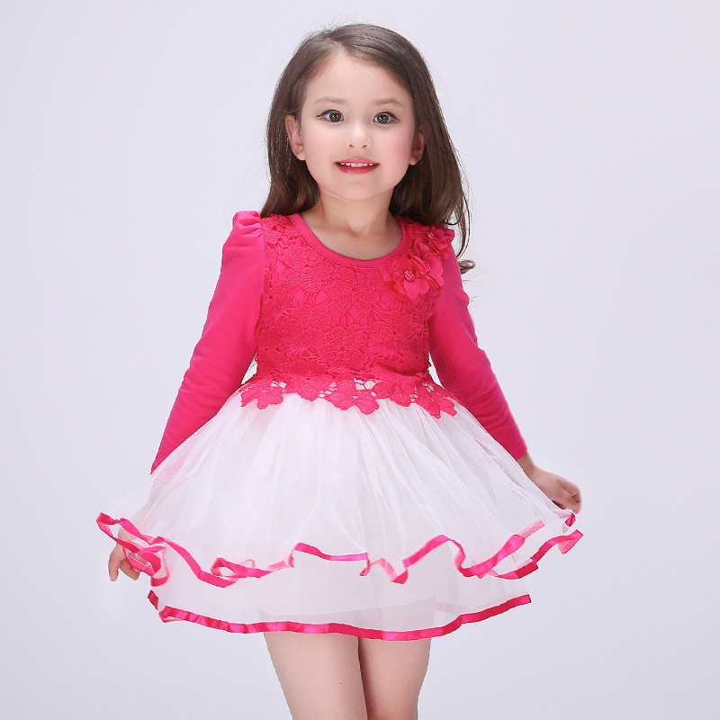 Girls Dresses Summer 2016 New Clothes For Teens Kid Dress For Girls Kids Formal Children Dress ...