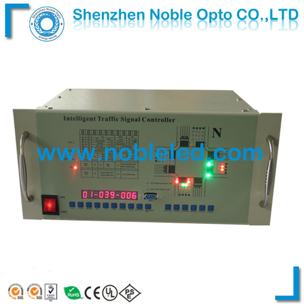 10 Output Road Crossing Intelligent Traffic Signal Light Controller(China (Mainland))