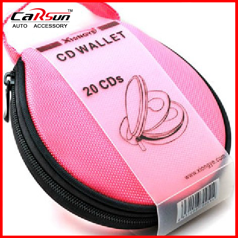 Non-woven High Quality Fashion 20 Disc CD DVD And Protect Storage Carry Bag/CD Bag/Case/Wallet/Package 5 Colors CD-07(China (Mainland))
