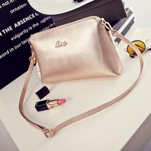 2015 Sunmer new  fashion women's leather handbag small shoulder bag messenger bag clutch bolsa feminina Pink, Gold,rose,white B7