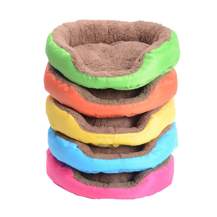 Hot Sales! DOG bed Fruit pink blue 5 Colors Pet Cat and Dog Bed Promotion SML size for puppy large pet Kennel PC26(China (Mainland))