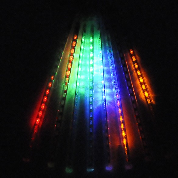 2015 New 30CM Meteor Shower Rain Tubes LED Light For Christmas Romantic Wedding Garden Decoration Light 22(China (Mainland))