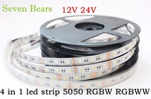 Buy 5m RGBW RGBWW 5050 Led Strip Light DC 12V 24V 4 1 Led Chip Waterproof Non Waterproof 60led/m indoor outdoor home decoration for $12.00 in AliExpress store