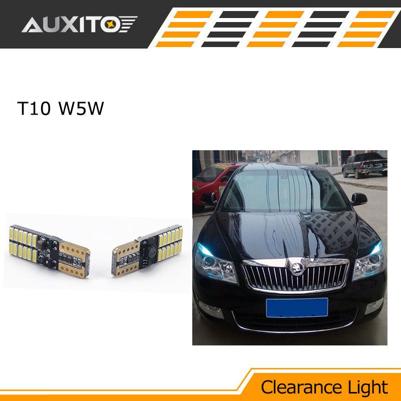 2X T10 LED W5W LED Car LED 12V Clearance Light Parking For volkswagen nissan renault skoda honda mitsubishi mazda chevrolet(China (Mainland))