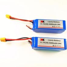 2pcs Original XK X380 X380-A X380-B X380-C rc Quadcopter Helicopter 11.1V 5400mAh 20C Lipo Battery
