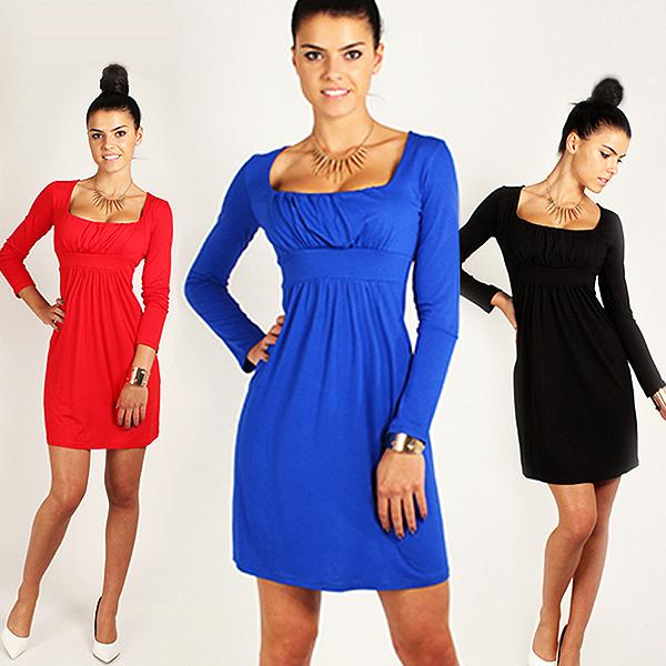 Осень зима длинный рукав платье большие размер Bodycon платье хлопок женщины одежда ну вечеринку свободного покроя платье D057