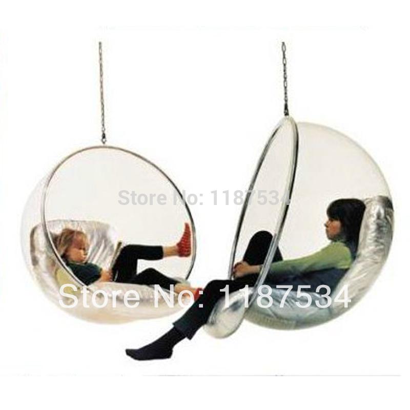 Eero Aarnio Bubble Chair hanging ball chair acrylics ball chair modern hammocks patio swings chair(China (Mainland))