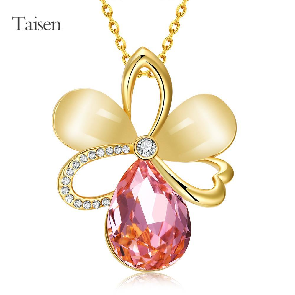 necklace flowers gold necklace 2016 necklace women collares fashion pendant women perfume matched sweets top vintage jewelry(China (Mainland))