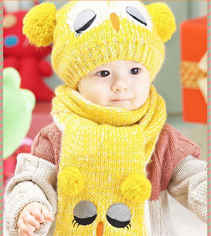 Вязание шарфа для детей до года