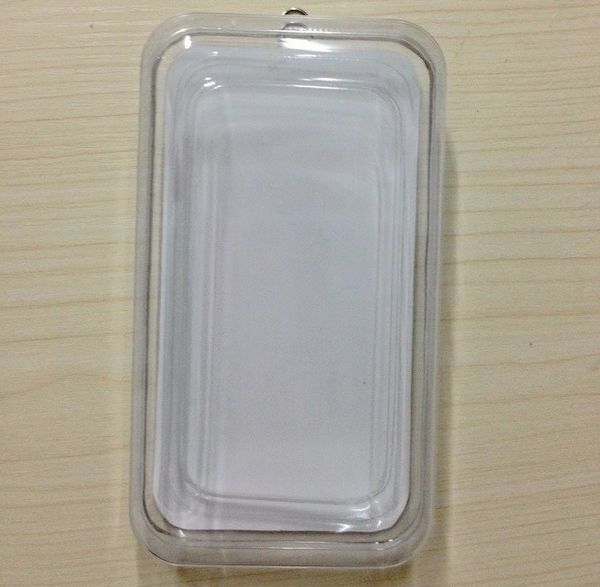 Wholesale Plastic Packaging Crystal Box for iPhone,HTC,Samsung Note,Galaxy s4 Cases ,100pcs /lot dhl Free Shipping