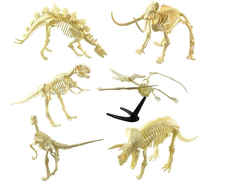 Динозавр своими руками скелет 519
