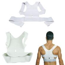 Men Women Magnetic  Best Deal Posture Support Corrector Back Belt Band Pain Feel Young Belt Brace Shoulder for Sport Safety(China (Mainland))