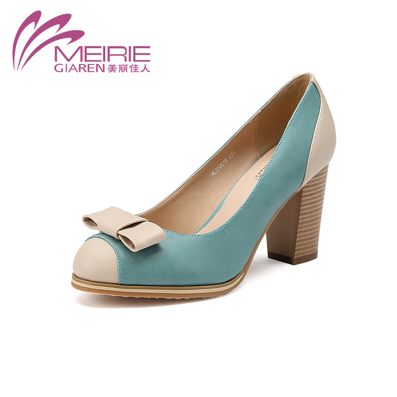 AOKANG MeiRieS 2016Spring New Arrival High Heels Ladies Shoes Fashion shoes