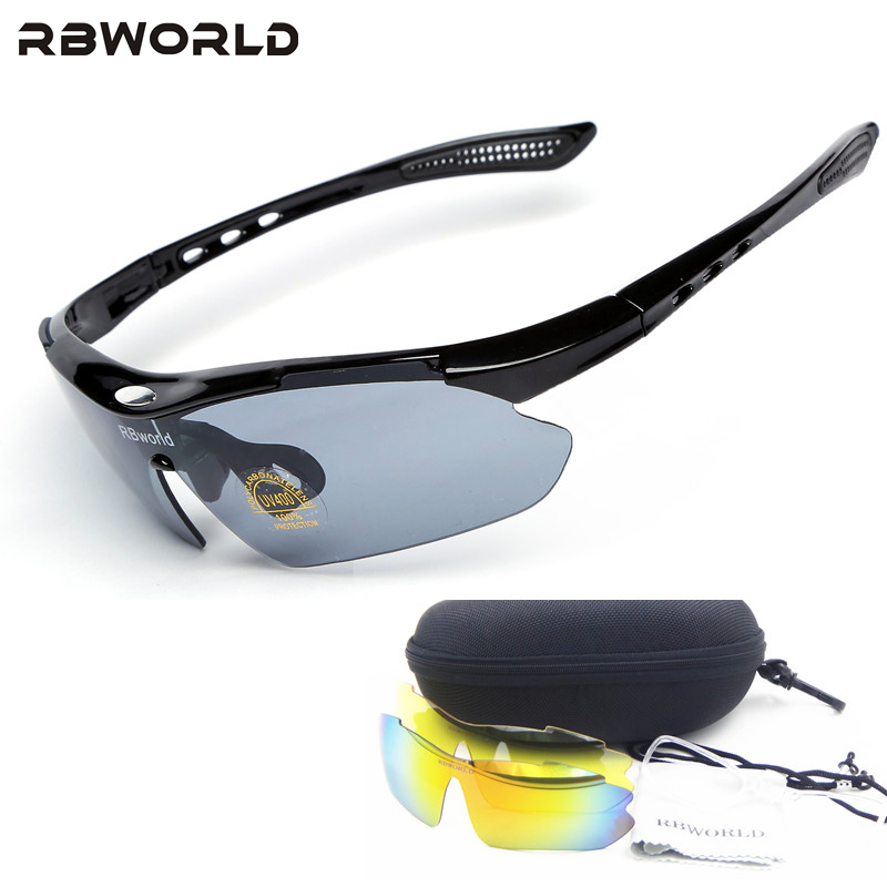shop glasses online rgp4  3 lenses Polarized Brand new bike bicycle cycling mountain sunglasses mtb  glasses motocycle sport eyewear Myopia 100% UV400