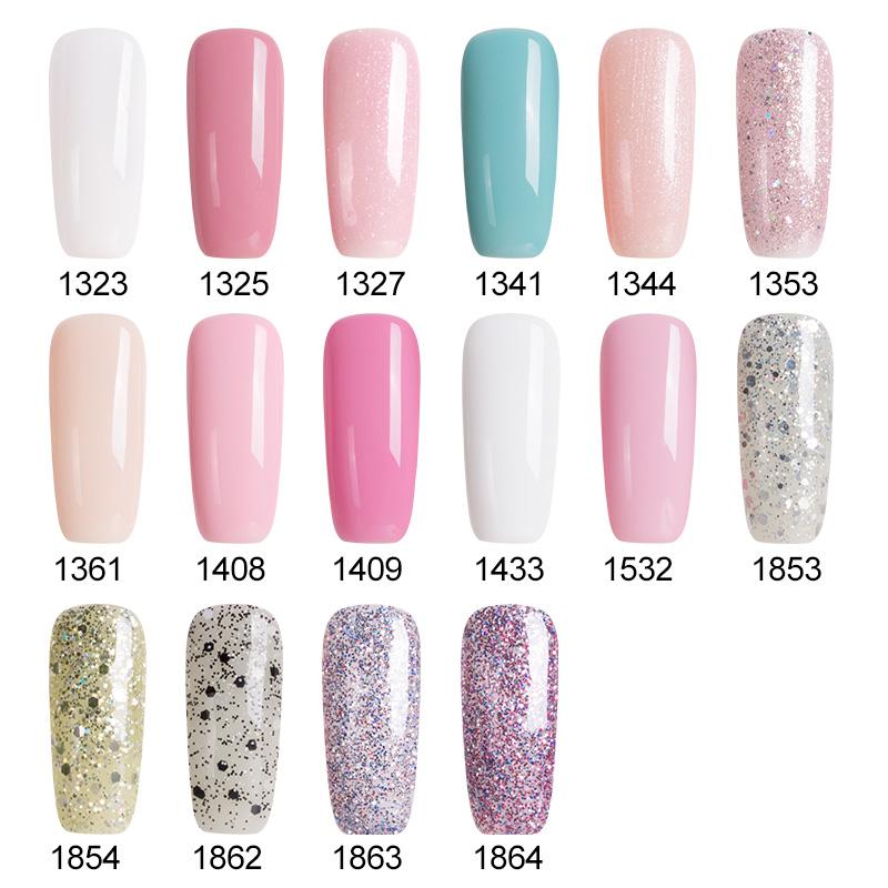 High Quality Hot Sale Young Girl Series UV Nail Gel Polish Nude Pink Color Gel Nail Polish Hot Soak off UV Led Gel Polish(China (Mainland))