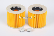 Generic 2pcs Replacement Cartridge Filter for Karcher WD2200 VC6200 Wet & Dry Vacuum Cleaners,Compare to Part # KAR64145520