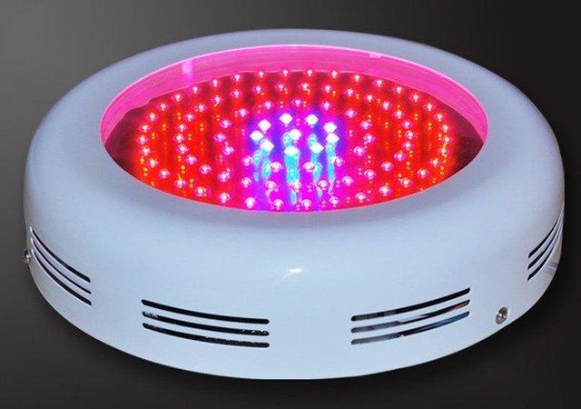 90W UFO LED grow light,45*2W,use 2W led chip,red(630nm):blue(470nm)=8:1