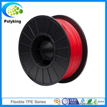 Red 1.75MM/3MM Elastic Soft 3D Printer Flexible Filament For MakerBot/RepRap/UP/Mendel