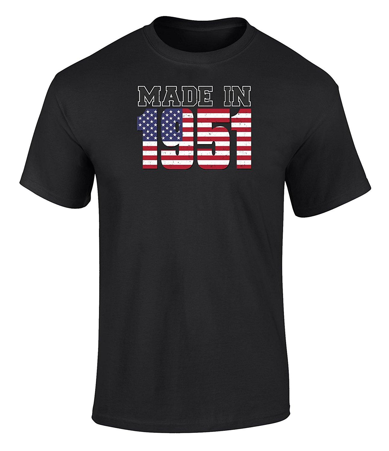 Design your own t shirt made in usa - Design Your Own Shirt Men S Happy 66th Birthday With Distressed Vintage Made In Usa Flag 1951