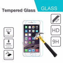 HOT NEW 9H 0.25mm HD Premium Tempered Glass For iPhone 6 6S 5 5S 4 4S 5C 6Plus 6SPlus Screen Film Protector High Quality