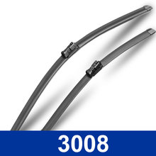 New styling Car Replacement Parts wiper blades/Auto decoration accessories The front windshield wipers for Peugeot 3008 class
