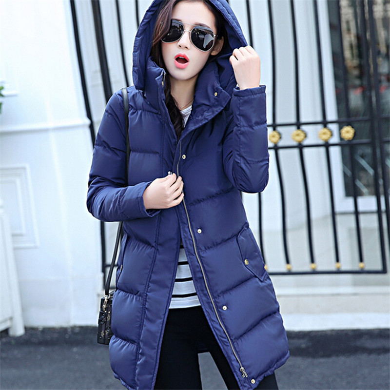 Winter coat women long thick women winter clothing cotton padded jacket hooded parka winter woman down jacket for female TT269Одежда и ак�е��уары<br><br><br>Aliexpress