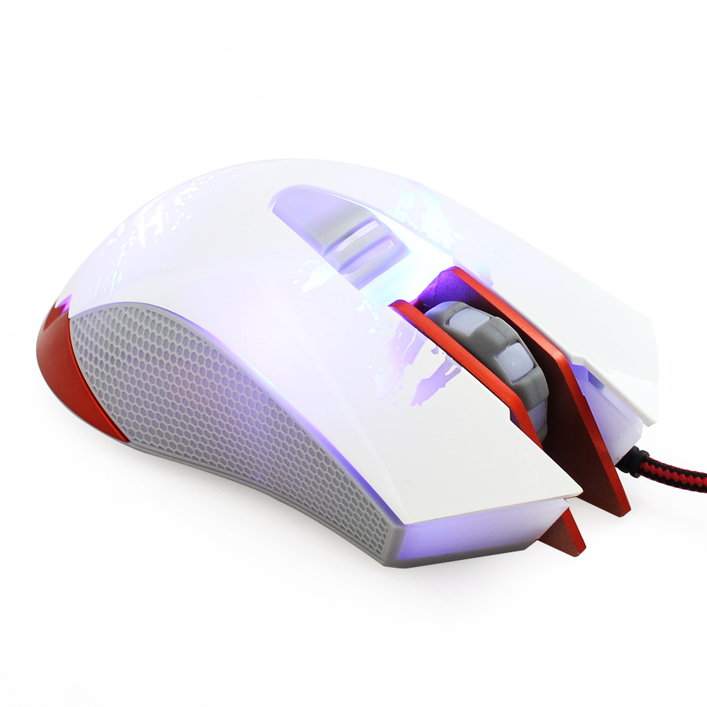 Professional 5Key 1200DPI Lights Color Changing USB Wired Gaming Mouse Mice for Laptop Desktop Computer Dota Internet(China (Mainland))
