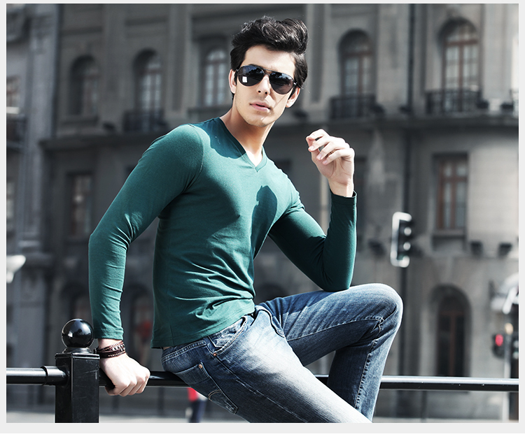 Мужская футболка STONE SHOWER T Slim fiT v CEE-YS14C162 мужская футболка dermay slim fit t v 6 homme m 3xl